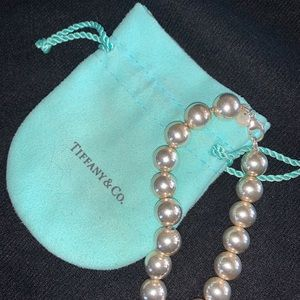 Tiffany hardwear ball bracelet. Sterling